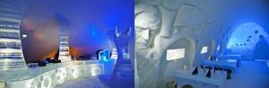 Hôtel insolite: le château de glace de LumiLinna en Finlande