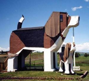 Dog Bark Park Inn aux USA, l'hôtel qui a du chien