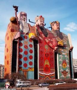 Tianzi hotel : l'hôtel des dieux taoistes