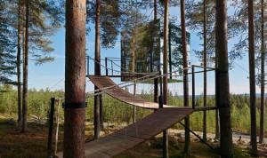 Tree Hotel en Suède