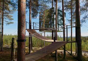TreeHotell   Photographer Ulf B. Jonsson.