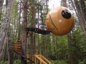 Hôtel dans les arbres : les Free Spirits Spheres