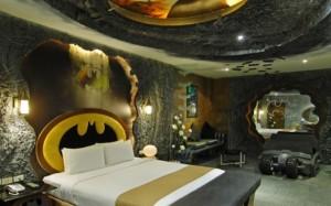 La suite Batman à l'hôtel Eden (Taiwan)