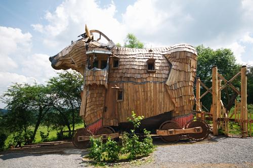 La balade des gnomes : chambres d\'hôte insolites en Belgique ...