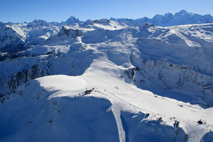 carroz-piste-ski
