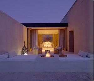 Hôtel de luxe en plein désert américain