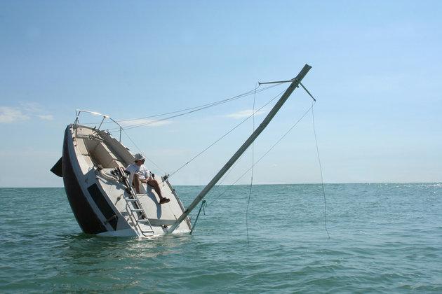 Le bateau Love Love : inutile d'appeler les secours…