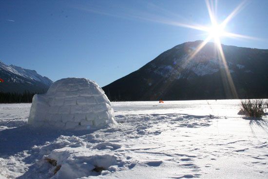 Un week-end en igloo ?