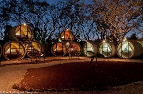 Le Tube Hotel au Mexique !