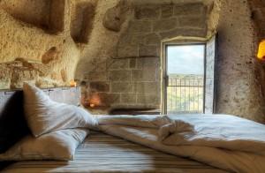 Hôtel le Grotte della Civita : le romantisme latin des grottes !