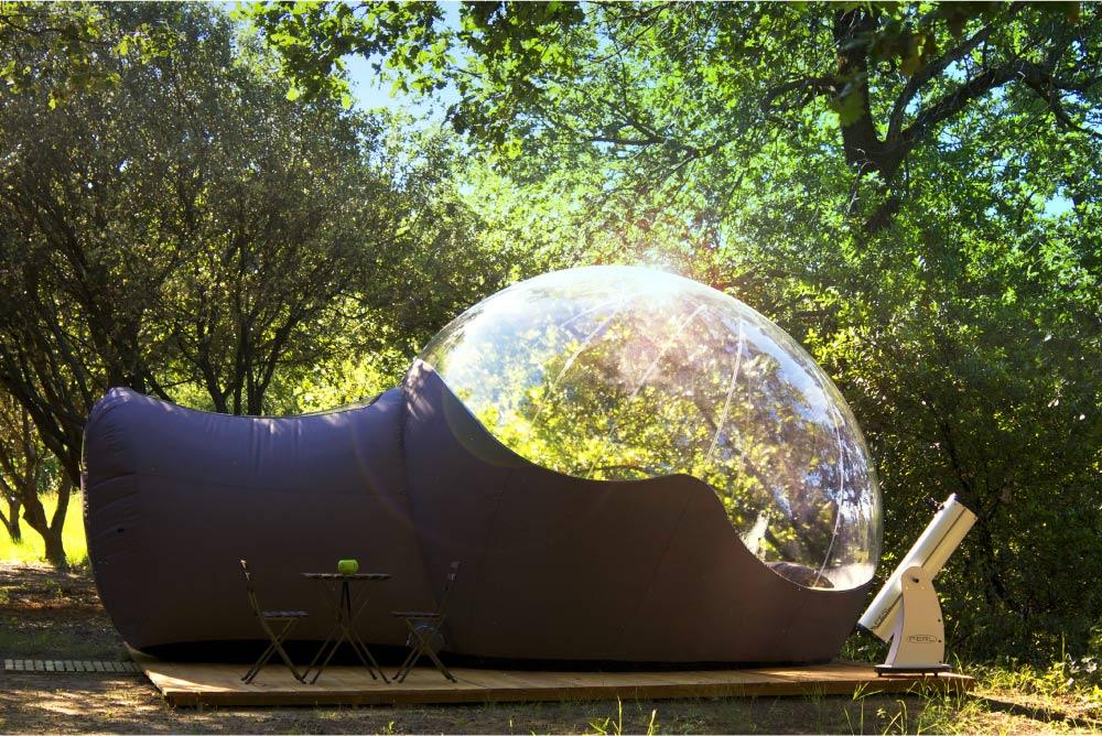 Nouvelle location insolite : la maison bulle ! | Voyage Insolite