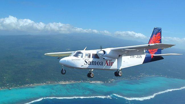 Voyager au poids avec Samoa Air !