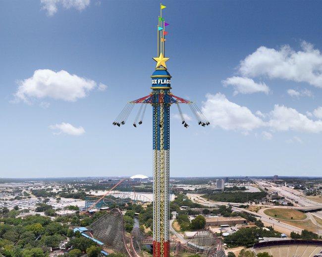 La plus haute balançoire du monde au Texas