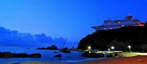 L'hôtel paquebot de croisière en Corée du Sud
