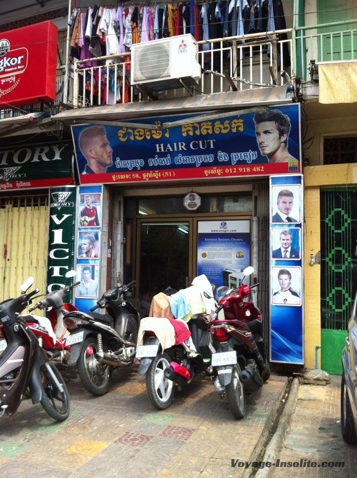 coiffure Phnom Penh
