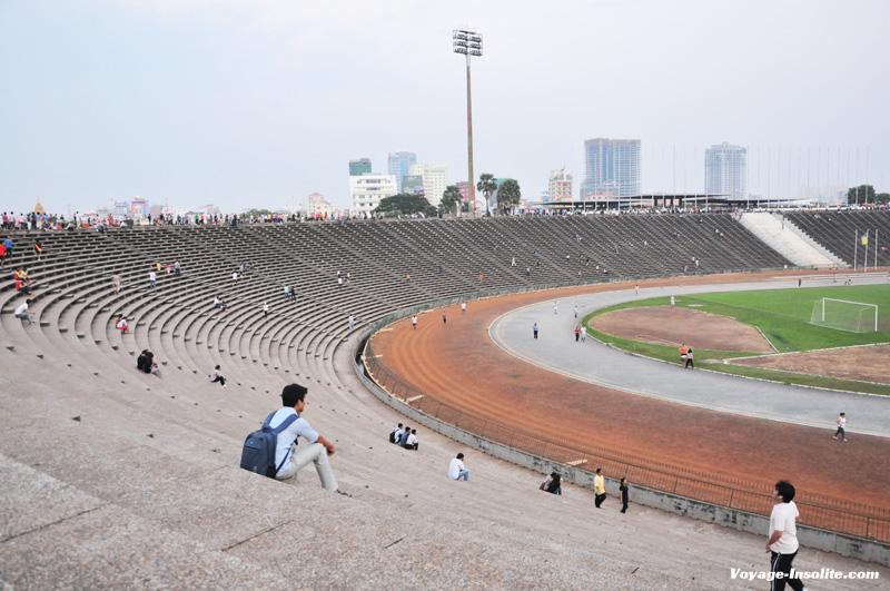 stade olympique Phnom Penh
