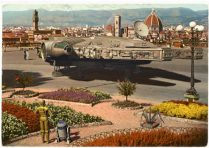 Top 9 des cartes postales vintage Star Wars de Franco Brambilla