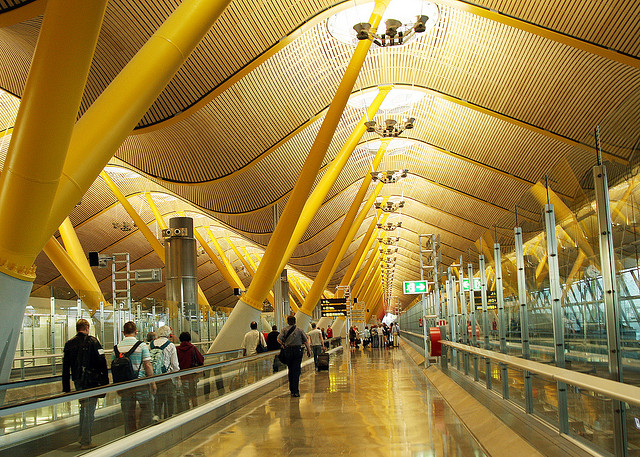 Aeoport-international-Madrid-Barajas