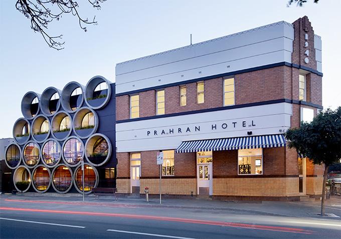 Les tubes du pub Prahran Hotel (Australie)