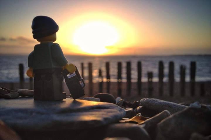 The Legographer : le petit Lego qui voyage à travers le monde