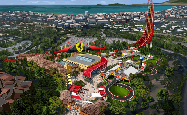 Le parc d'attraction Ferrari bientôt à Barcelone