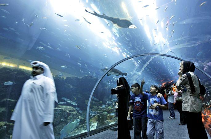 Mideast Dubai Mall