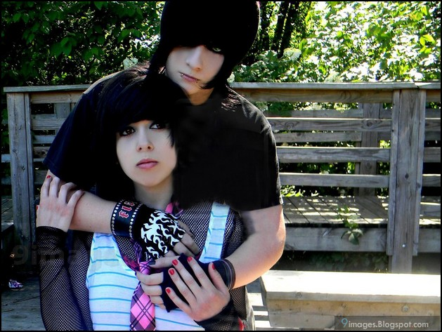 Cute emo couple pics