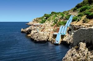 Les plus beaux toboggans du monde sont à l'hôtel Città del Mare en Sicile