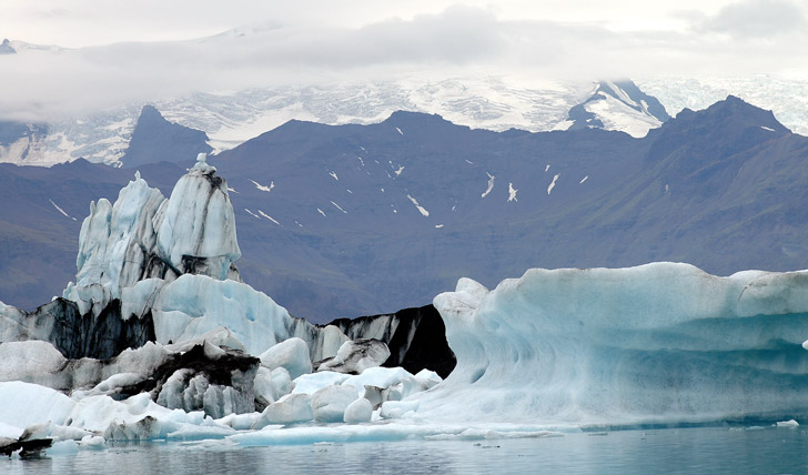 The-Glacier-of-Southern-Iceland