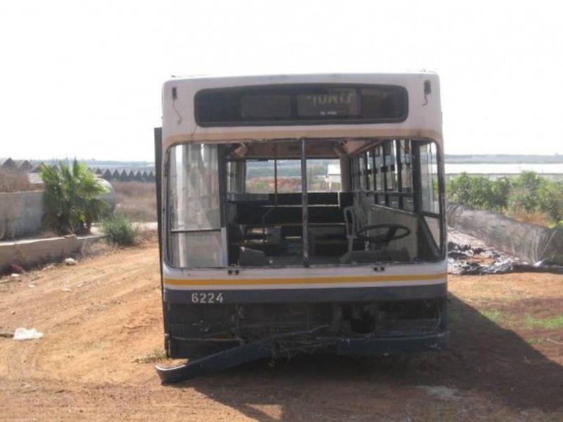 Le vieux bus changé en loft