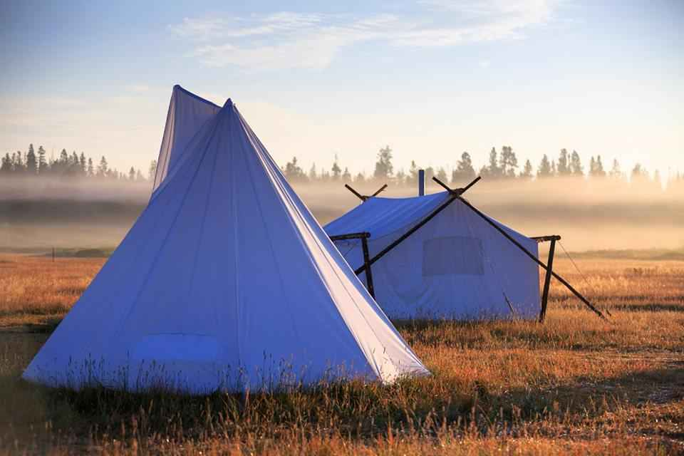 Yellowstone camp