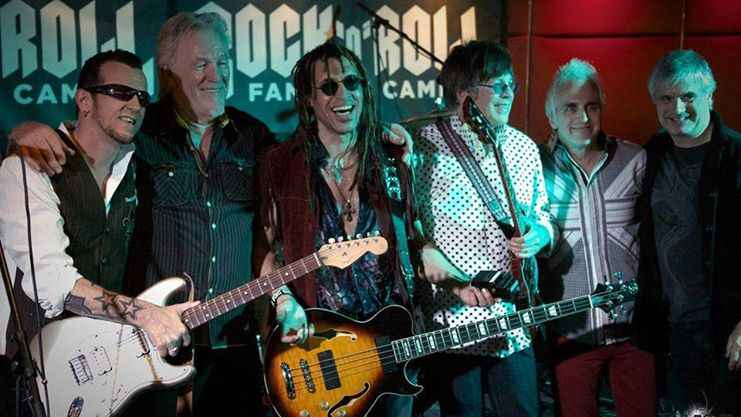 The Rock'N Roll fantasy camp