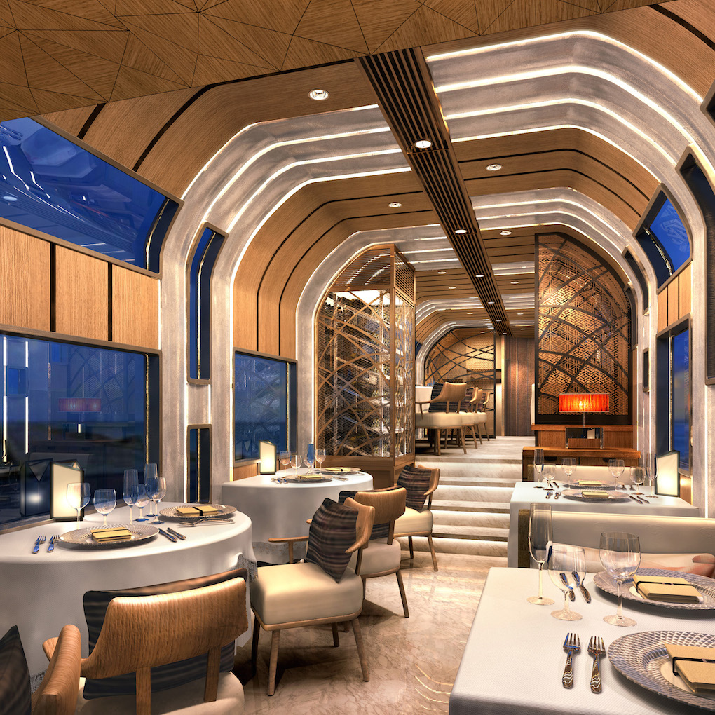 Le nouveau train grand luxe de la Japan Railway
