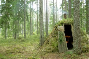Dormir dans l'hôtel le plus primitif de Suède