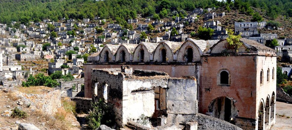 Une ville fantôme mise aux enchères en Turquie