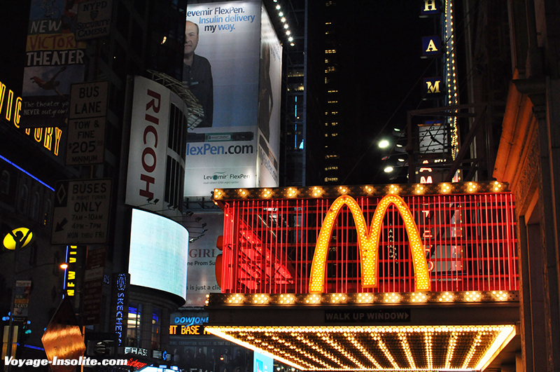 Mc Donald's insolite New York