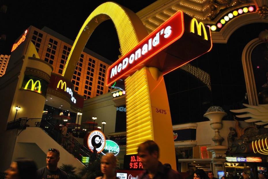 Mc Donald's insolite Las Vegas