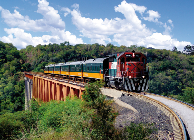 train Chepe Mexique