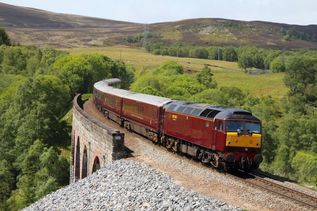 Royal Scotsman en Ecosse