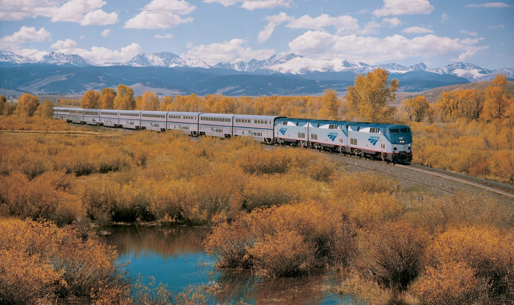California Zephyr train Californie