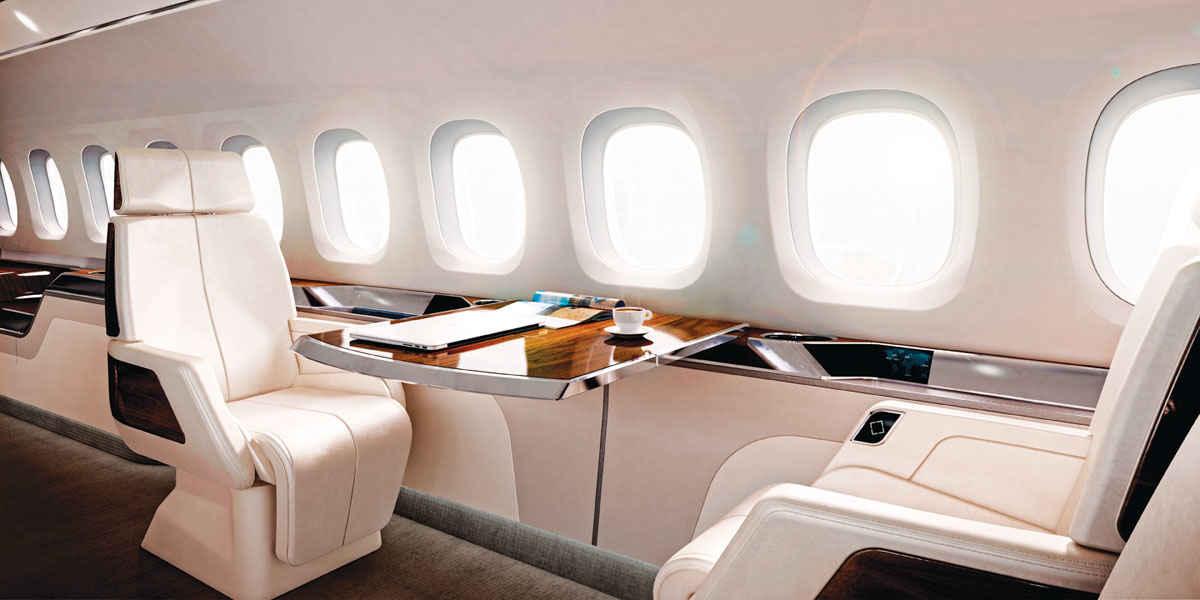 Un avion de ligne supersonique pour remplacer le concorde for Interieur avion