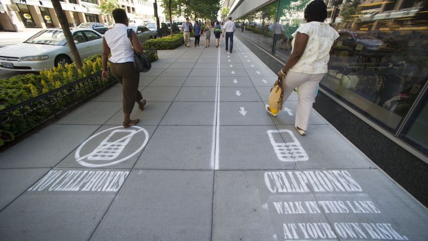 Cellphone Lane