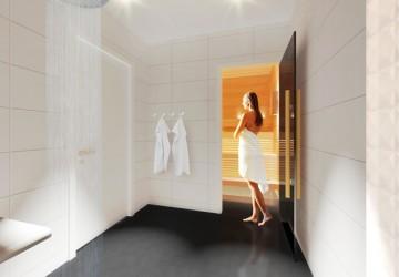 Un sauna dans un a roport finlandais voyage insolite voyage insolite - Sauna finlandais paris ...