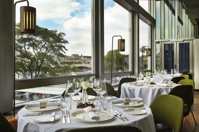 restaurant à Londres avec vue imprenable Plateau