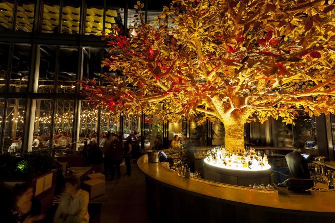 restaurant à Londres avec vue imprenable Skylon
