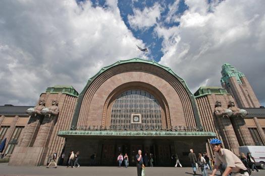 La Gare-centrale-d'Helsinki