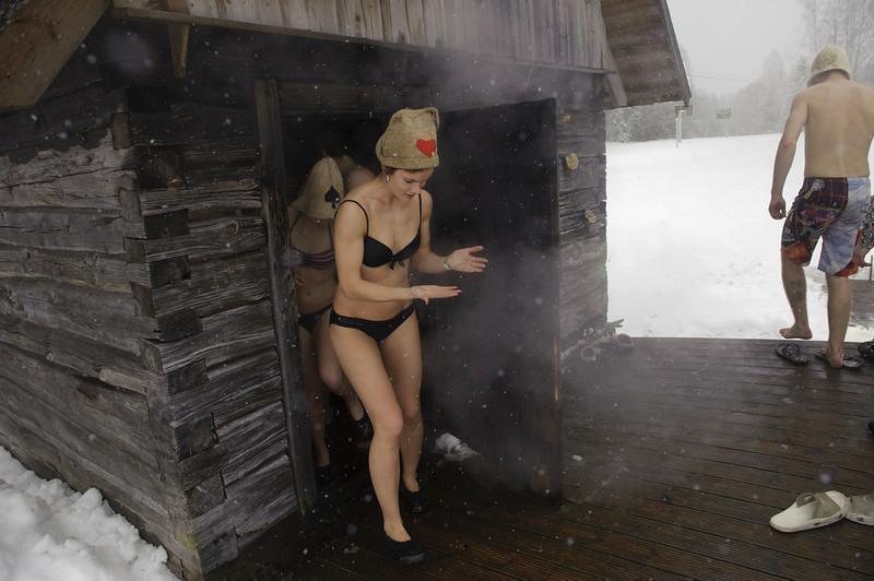 Le plus grand marathon de sauna du monde