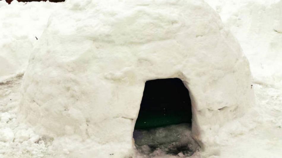 Vous pouvez louer un igloo sur airbnb pour 10 dollars for Interieur igloo