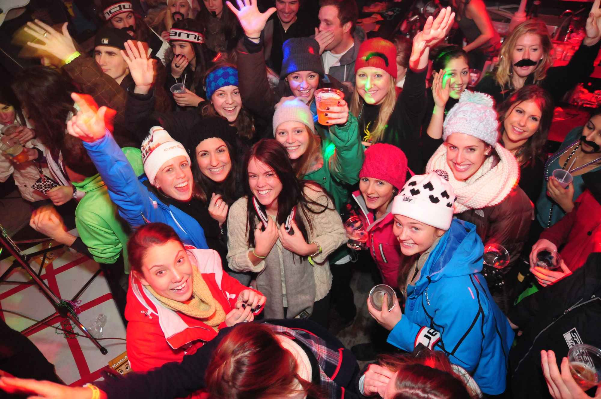 Top 9 des ski party dans le monde