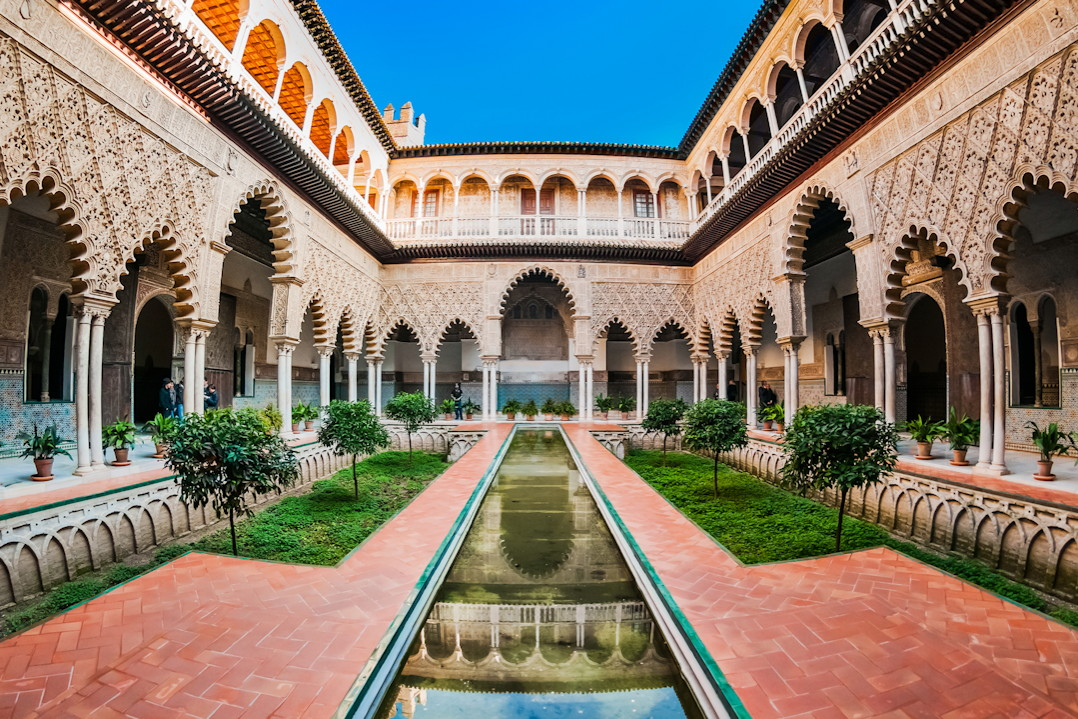 Alcazar Séville Game of Thrones